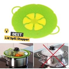 New Silicone Spill Stopper Handy Lid Tapas, Kitchen Hacks, Feel Better, Black Friday, Life Hacks, Gadgets, Amazing, Diy, House