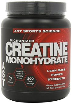 AST Sports Science Micronized Creatine Monohydrate 22 lbs 1000 g *** Check this awesome product by going to the link at the image. (This is an affiliate link) Best Fat Burning Pills, Fat Burning Drinks, Post Workout Nutrition, Sports Nutrition, Amino Acid Supplements, Nutritional Supplements, Best Workout Supplements, Micronized Creatine, Vitamins For Energy