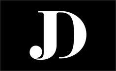 Jon-Dunn-logo-design-monogram-F37-Bella-Font-HypeForType