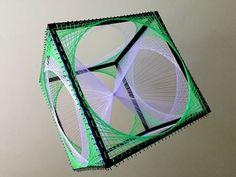 String art cube, 60cm