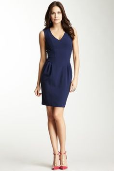 This site has a ton of designer dresses on sale! I love how classy this one is and it comes in other colors!