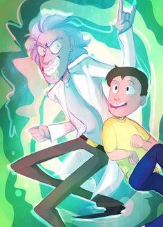 Rick and Morty by InvaderShego.deviantart.com on @DeviantArt