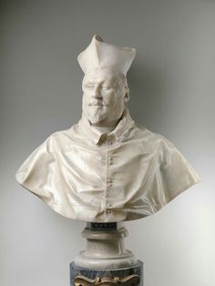 Galleria Borghese 1632. Seconda versione del busto di Scipione Borghese.