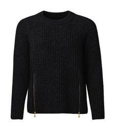 Berga Sweater Black - Tröjor - Kläder