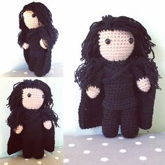 LIMITED TIME OFFER: free postage and packaging in the UK and reduced shipping to the US for a limited time to celebrate the new season of Game of Thrones! #amigurumi #crochet #plush #gameofthrones #hbo #jonsnow #winteriscoming #stark #nightswatch