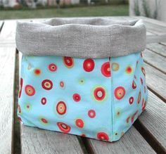 MK open container or bag Tilda - Forum Sewing Hacks, Sewing Projects, Whale Plush, Fabric Storage Boxes, Fabric Bags, Cute Bags, Sewing Patterns Free, Diy Clothes, Baby Knitting
