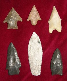 Image Detail for - identification and authentic native american indian arrowheads ...