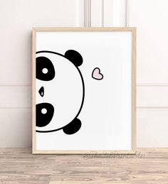Ideas for Decorating a Bedroom in a Panda Theme Small Canvas Art, Cute Canvas, Mini Canvas Art, Diy Canvas, Disney Canvas Art, Panda Kindergarten, Panda Lindo, Niedlicher Panda, Panda Painting