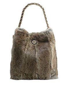 6f4cc48883c Tory Burch Fur Hobo Shoulder Bag
