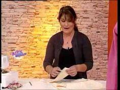 Liliana Villordo - Bienvenidas TV - Explica la costura de un Saco de Dama en Polar. - YouTube
