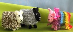Around the World in 10 Blogs Cute Sheep free patterns