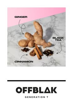 OFFBLAK's Spice it Up Masala Chai black tea is bursting with flavour. High caffeine level to power you through the day. Ginger Black, Forest Fruits, Masala Chai, Yoga Session, Caffeine, Spice Things Up, Spices, Feels, Tea
