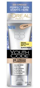 Makes my older skin absolutely DEWEY! I have tried all the BB creams - expensive to drug store.... this one is the best! LOreal: Youth Code BB Cream Illuminator