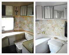 Before & After: Melanie and George Makeover (and Move Into) an Airstream — Renovation Project   Apartment Therapy