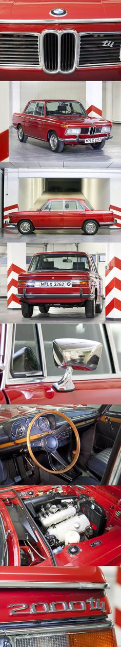 1969 BMW 2000 tii / Germany / red / 130hp / 1952pcs