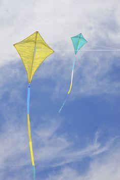 Diamond Kite - Turquoise Wind | Haptic Lab
