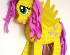 Piñata de Rainbow Dash My Little Pony por PinjateNoviSad en Etsy