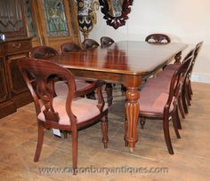 Victorian Dining Chairs, Dining Sets, Balloon, Set Of, Showroom, Dinner Sets,  Dining Room Furniture Sets, Dining Set, Balloons