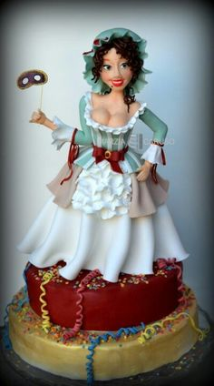 Doll Cake Art