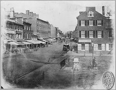 the first picture ever taken of baltimore | 1849 Baltimore Street, Baltimore, Md.
