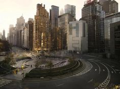 Columbus Circle, New York City, New York.