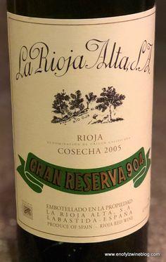 Wine of the Day: 2005 La Rioja Alta Rioja Gran Reserva 904