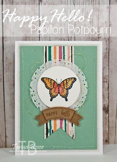 Tinkerin In Ink with Tanya: Stamp Review Crew: Papillon Potpourri Edition