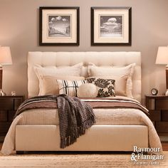 Dana King Bed from Raymour and Flanigan-- So beautiful  ~  Entrant's Image ~