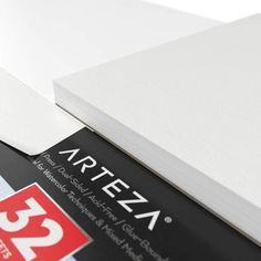 Expert Watercolor Pads 32 Sheets - Set of 2 Watercolor Pads Arteza