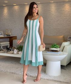 11 Best Summer Dress Fashions - 1 This summer is the most fashionable dresses. These fashion dresses will suit you very well. Casual Dresses, Short Dresses, Fashion Dresses, Most Beautiful Dresses, Beautiful Outfits, Best Summer Dresses, Look Chic, Mode Style, Classy Outfits