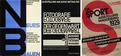 Theo H. Ballmer. Neues Bauen (New building). 1928. Poster for traveling exhibition of the Deutscher Werkbund. Offset lithograph. Gift of The Lauder Foundation, Leonard and Evelyn Lauder Fund. Walter Dexel. Fotografie der Gegenwart (Contemporary photography). 1929. Poster for an exhibition in Magdeburg, Germany. Linocut. Gift of the designer. Walter Dexel. Die Sport Ausstellung Magdeburg (Sport exhibition Magdeburg). 1929. Offset lithograph.