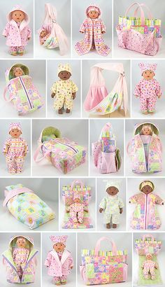Baby on Board sewing patterns for Baby Dolls. Sewing Doll Clothes, Sewing Dolls, Girl Doll Clothes, Girl Dolls, Baby Dolls, Reborn Dolls, Reborn Babies, Doll Crafts, Diy Doll