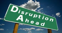 Uber disruption is happening in not just the transportation sector. It's…