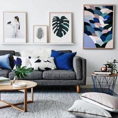 Living room inspiration: how to style a grey sofa                                                                                                                                                                                 More