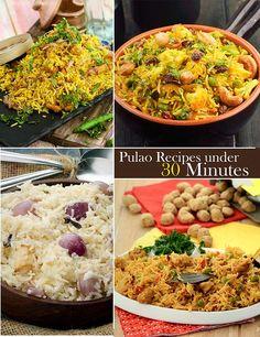 30 Minutes Pulao Recipes   TarlaDalal.com   #66