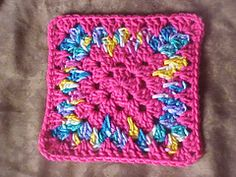 Ravelry: Spiked Granny pattern by Kay C Fulmer