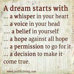 dream big quotes | Dream big!
