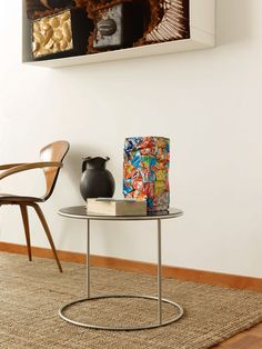 Side table / contemporary / for outdoor use / home - CANNOT by Michela Catalano & Ilaria Marelli - Cappellini