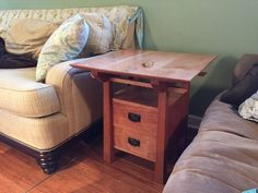 Cherry End Table-American Bungalow Style with Japanese elements. Gorgeous!