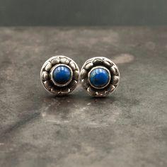 Simple Earrings, Blue Earrings, Gemstone Earrings, Leaf Jewelry, Fine Jewelry, Lapis Lazuli Jewelry, Gold And Silver Rings, Blue Birthday, Gemstones
