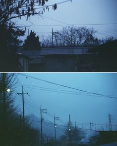 I love the creepy feeling in these photographs. The dark shadows and the fog really create the setting.