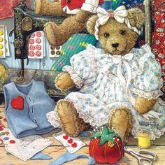 Bears & Bows 500pc Jigsaw Puzzle
