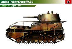 leichte Traktor (VK.31)