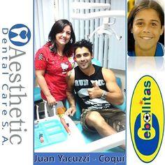 ⚽⚽ COQUI DE CEBOLLITAS⚽⚽ Nos ha visitado en Aesthetic Dental Care @JuanYacuzzi actor de Cebollitas y @CamiLunaF  Se realizaron su Control Dental Preventivo. Las Mejores Sonrisas en @AestheticDentalCare  Reserva tu Consulta de Diagnóstico SIN COSTO Llámanos 📍Teléfono 2681129. 📍Celular 0999225043 whatsapp.  Síguenos en nuestras redes Sociales 📍Facebook: Aesthetic Dental Care 📍Instagram: @AestheticDentalCare  En Aesthetic Dental Care Odontología de Calidad al Precio Justo  #odontologia…