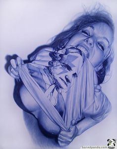 25 Photorealistic Pictures Drawn with a BIC Pen | Bored Panda