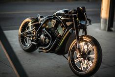 "From the Harley-Davidson Japan Street Build Off competition: This is ""The Other One"" by Tatsuya Fujii of Duas Caras Cycles."
