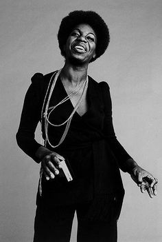 """Nina Simone. Adjectives fail. Except to say,  """"Do what you gotta do"""", is a song I will openly adore forever. And ever."""