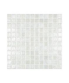 Madrid White Lustre Anti-Slip Mosaic