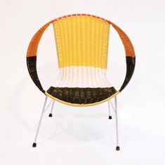 Chair from a new collection of seating from the Italian fashion house Marni. The chairs were produced by former Columbian prisoners. Marni is working with local charities there to employ former prisoners and help them settle back into social and working life.