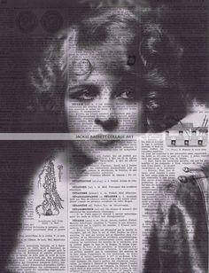 New / Altered Vintage Book Page Prints /   par studioflowerpower, $8,50